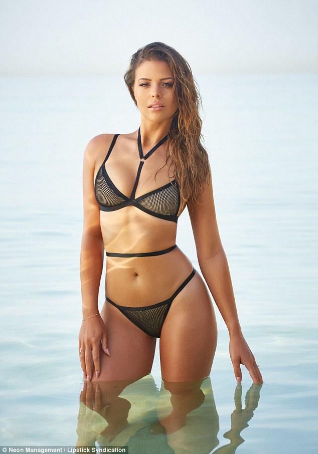 Chloe Lewis Flaunts Her Sensational Bronzed Bikini Body In